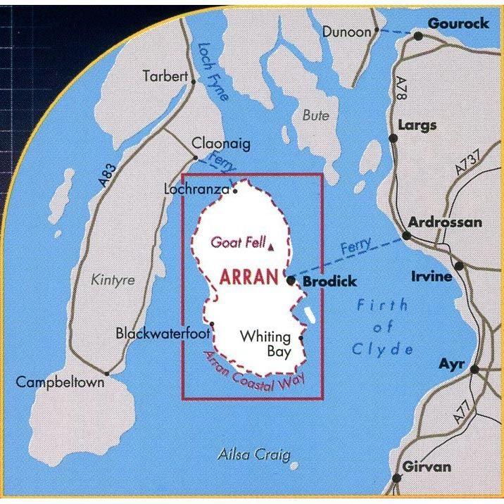 Harvey Ultramap XT40 - Arran coverage