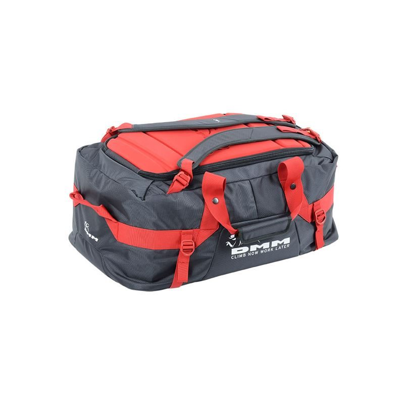 DMM Void Duffel 75L Grey/Red