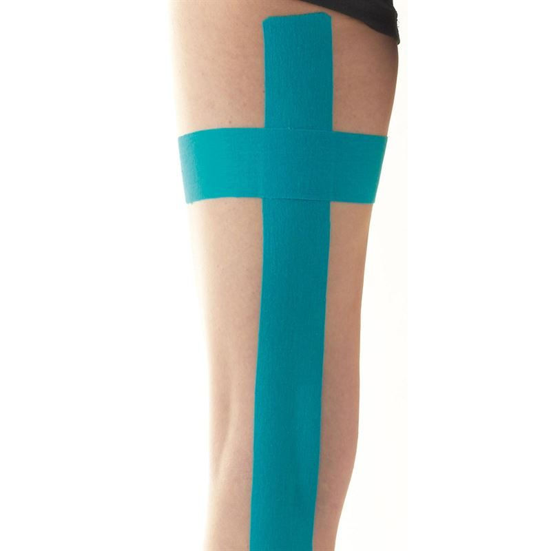 Ultimate Performance Kinesiology Tape in use