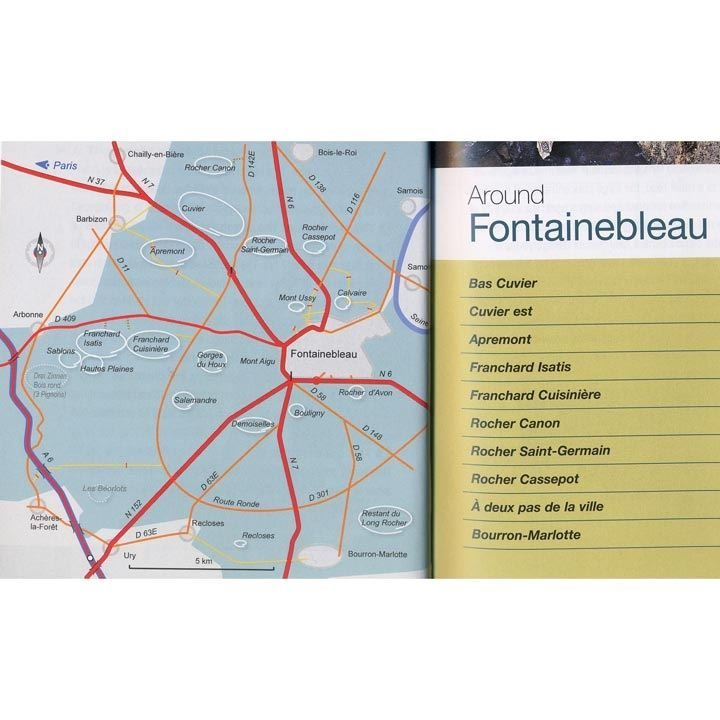 Fontainebleau - Bouldering Off Piste contents