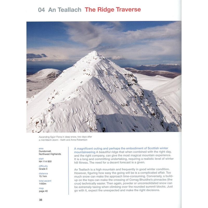 Scotland's Winter Mountains with One Axe page