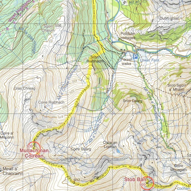 Harvey Map - Charlie Ramsay Round detail