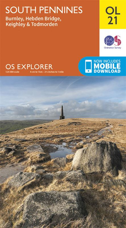 OS OL21 South Pennines