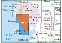 OS OL6 The English Lakes South-Western Area Active adjacent