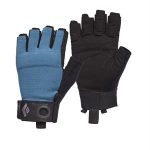 Black Diamond Crag Men's Half-Finger Glove Astral Blue