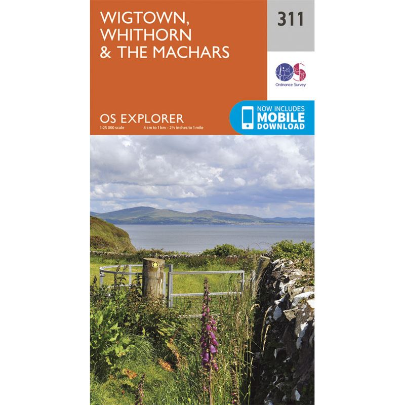 OS Explorer 311 Paper - Wigtown, Whithorn & The Machars