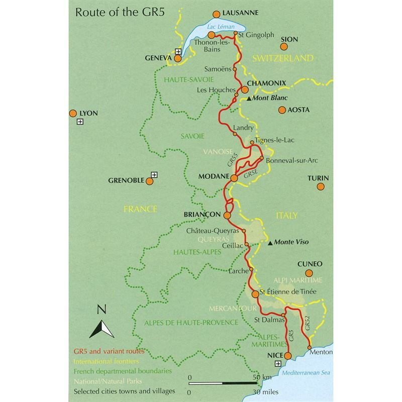 The GR5 Trail coverage