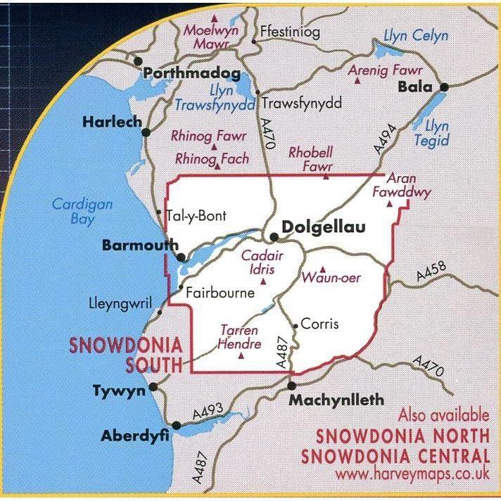 Harvey Ultramap XT40 - Snowdonia South coverage