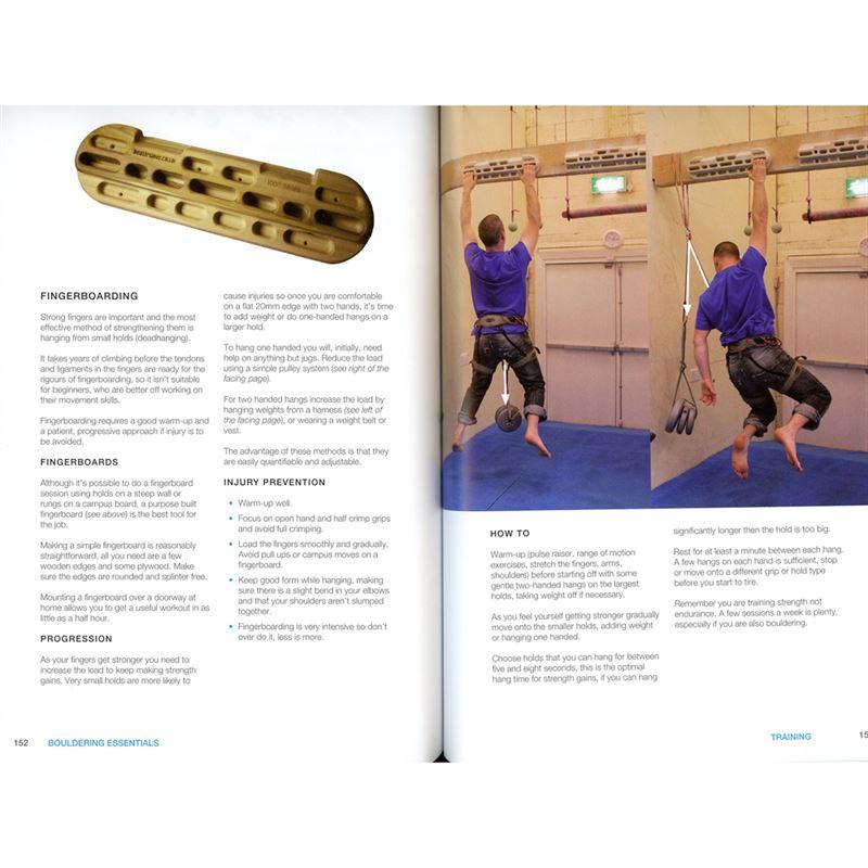 Bouldering Essentials pages