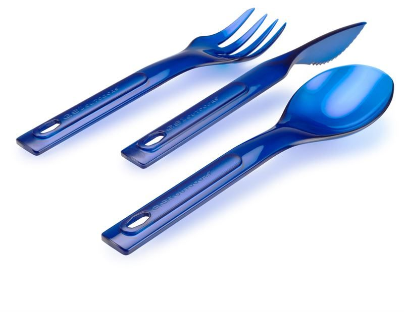GSI Stacking Cutlery Set Blue