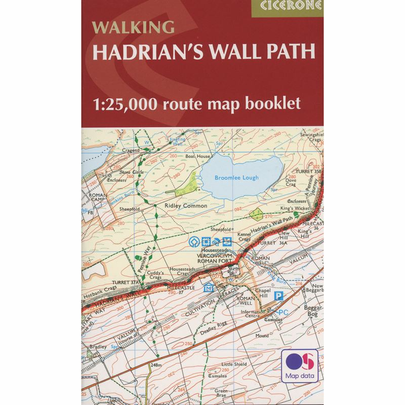 Walking Hadrian's Wall Path Map Booklet