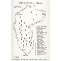 Wainwright - Book 1: The Eastern Fells coverage