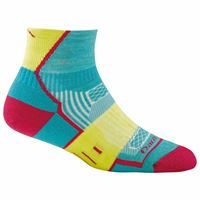 Darn Tough Women's BPM 1/4 Light Cushion 1798 Teal