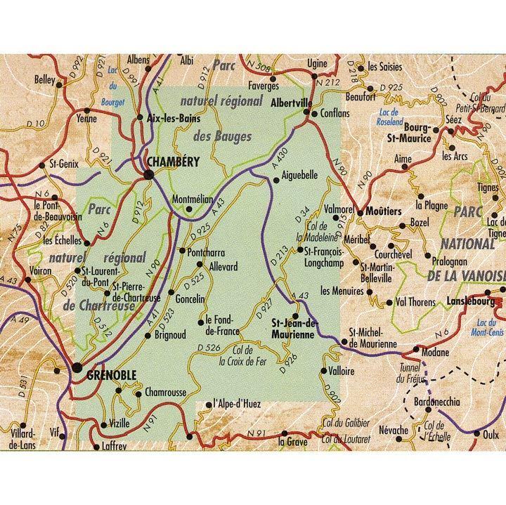 DR 03 Chartreuse, Bauges, Belledonne, Maurienne coverage