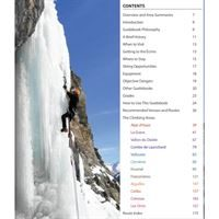 Écrins: Selected Ice Climbs contents