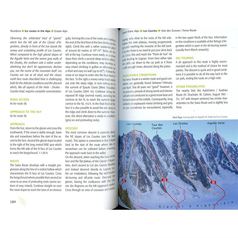 Ice Routes in the Alps pages