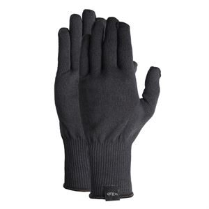 Rab Stretch Knit Glove Black