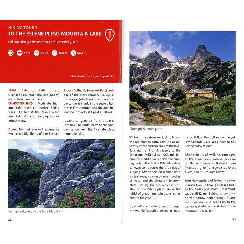 Kompass Map & Guide - High Tatra 1:25,000