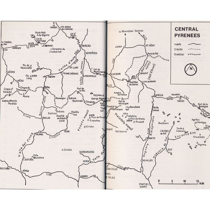 Pyrenees Central coverage