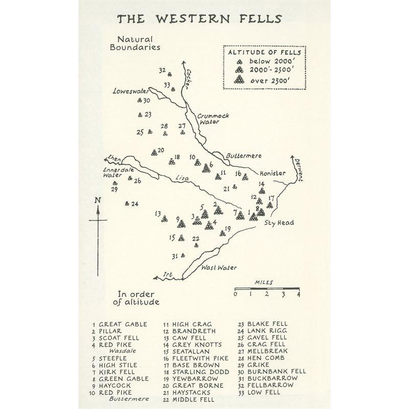 Wainwright - Book 7: The Western Fells coverage