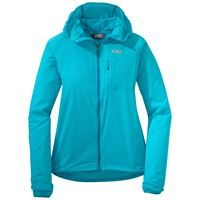 Outdoor Research Women's Tantrum II Hooded Jacket Typhoon/Oasis