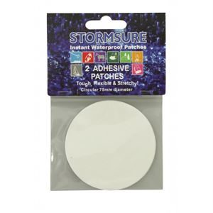 Stormsure Tuff Tape 75mm Patches - 2 Patches