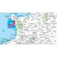 OS Landranger 123 Paper - Lleyn Peninsula adjacent