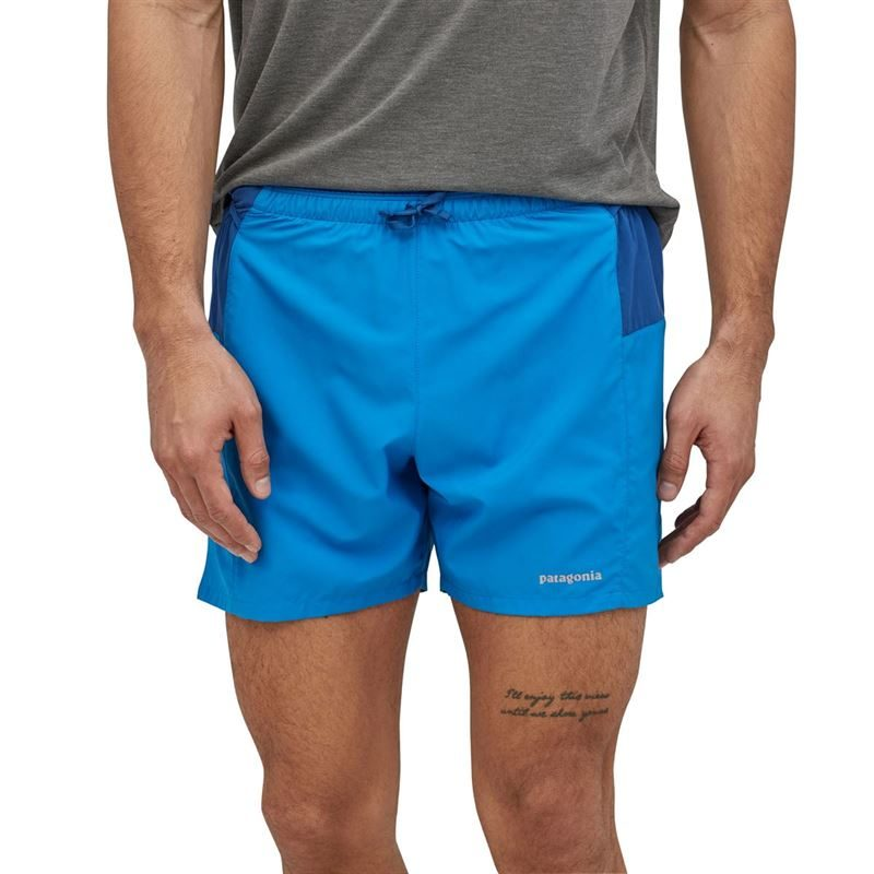 "Patagonia Men's Strider Pro Running Shorts 5"" Andes Blue"