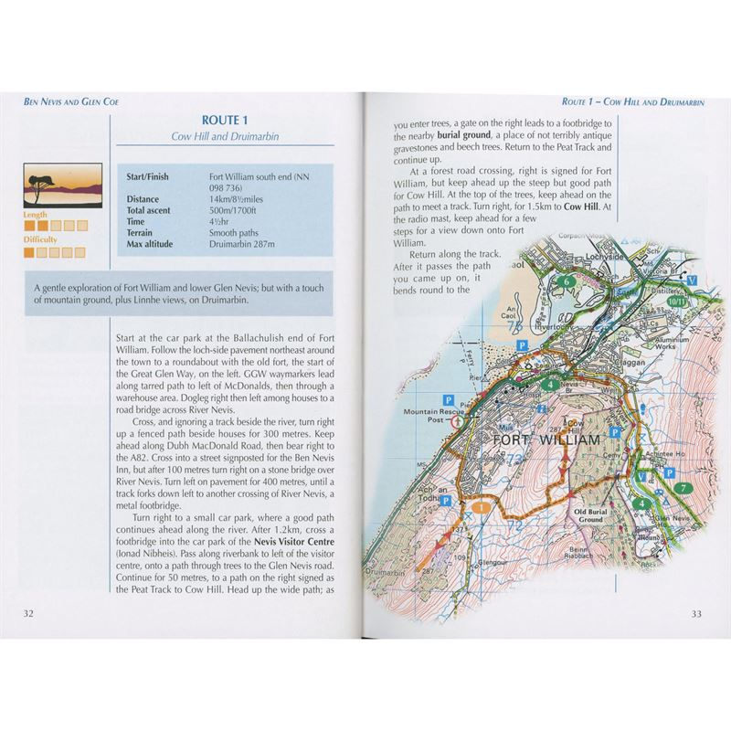 Ben Nevis and Glen Coe pages