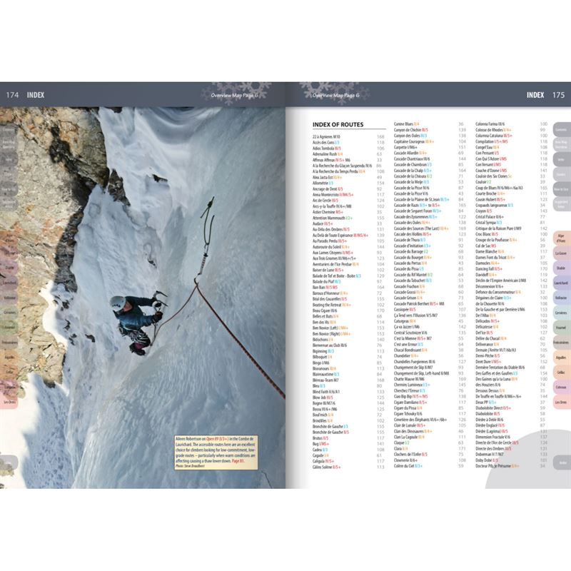Écrins: Selected Ice Climbs pages