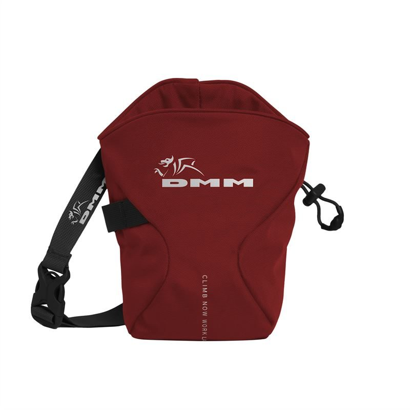 DMM Traction Chalk Bag Red