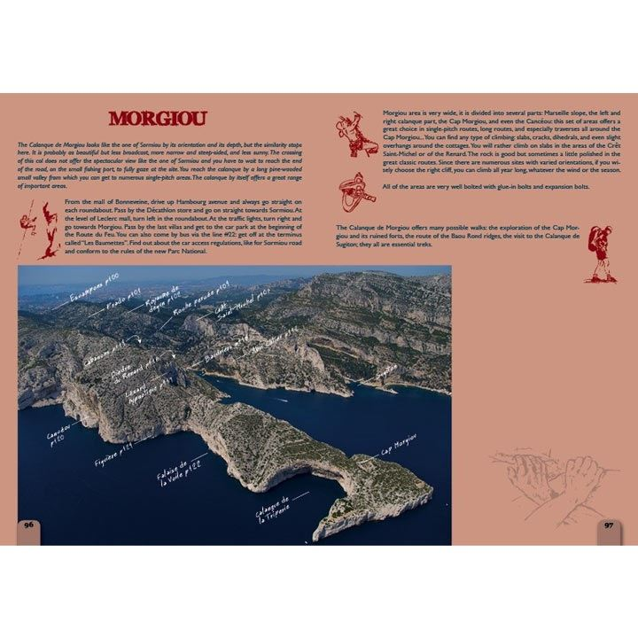 Calanques Climbing pages