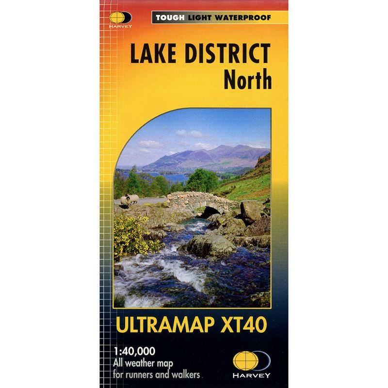 Harvey Ultramap XT40 - Lake District North