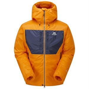 Mountain Equipment Men's Kryos Jacket Mango/Medieval Blue