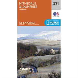 OS Explorer 321 Paper - Nithsdale & Dumfries