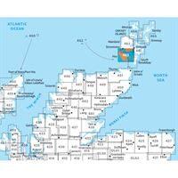 OS Explorer 462 Paper - Orkney - Hoy, South Walls & Flotta adjacent