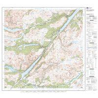 OS Landranger 34 Paper - Fort Augustus 1:50,000 sheet