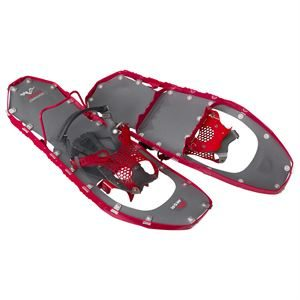 MSR Women's Lightning Ascent Snowshoes Raspberry 22@