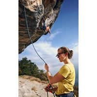 Y & Y Clip Up Clip On Belay Glasses in use
