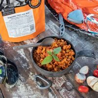 Expedition Foods Vegetable Tikka with Rice (Gluten Free, Vegetarian, 800kcal)
