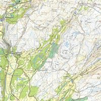 Harvey Ultramap XT40 - Snowdonia Central detail