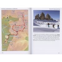 Ski Touring and Snowshoeing in the Dolomites pages