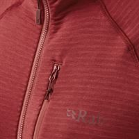 Rab Women's Filament Pull-On Ruby/Crimson detail