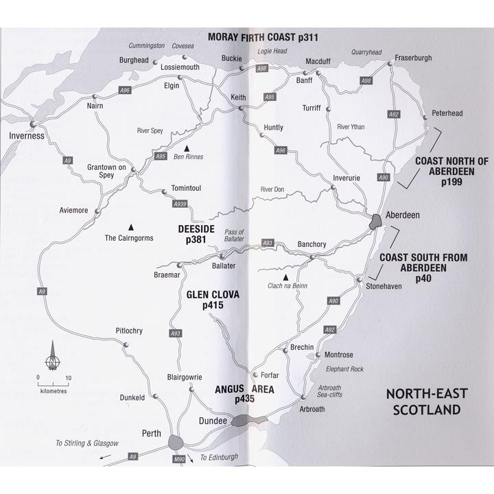 North-East Outcrops coverage