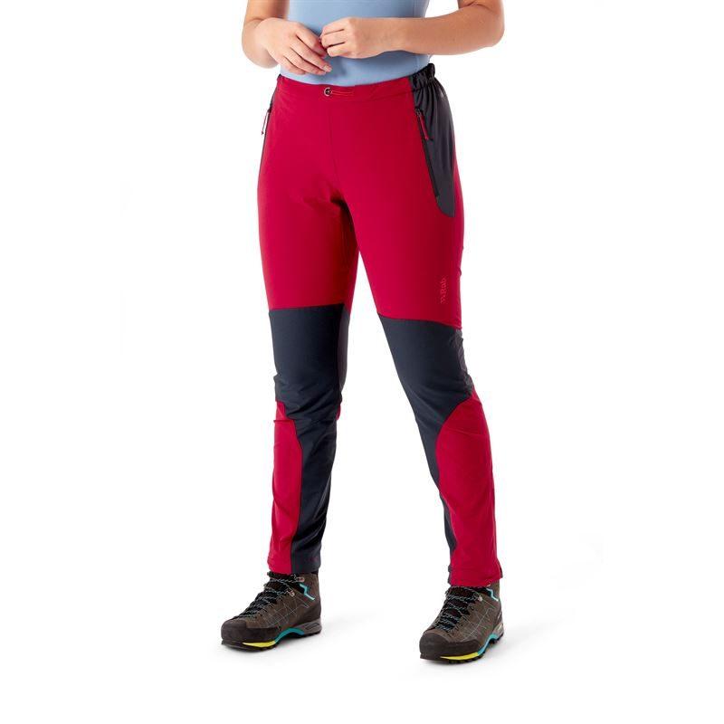 Rab Women's Torque Pants Crimson