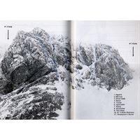 Ben Nevis Winter Climbs diagram