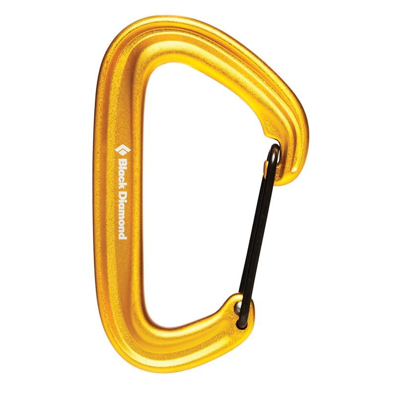 Black Diamond Litewire Karabiner Yellow